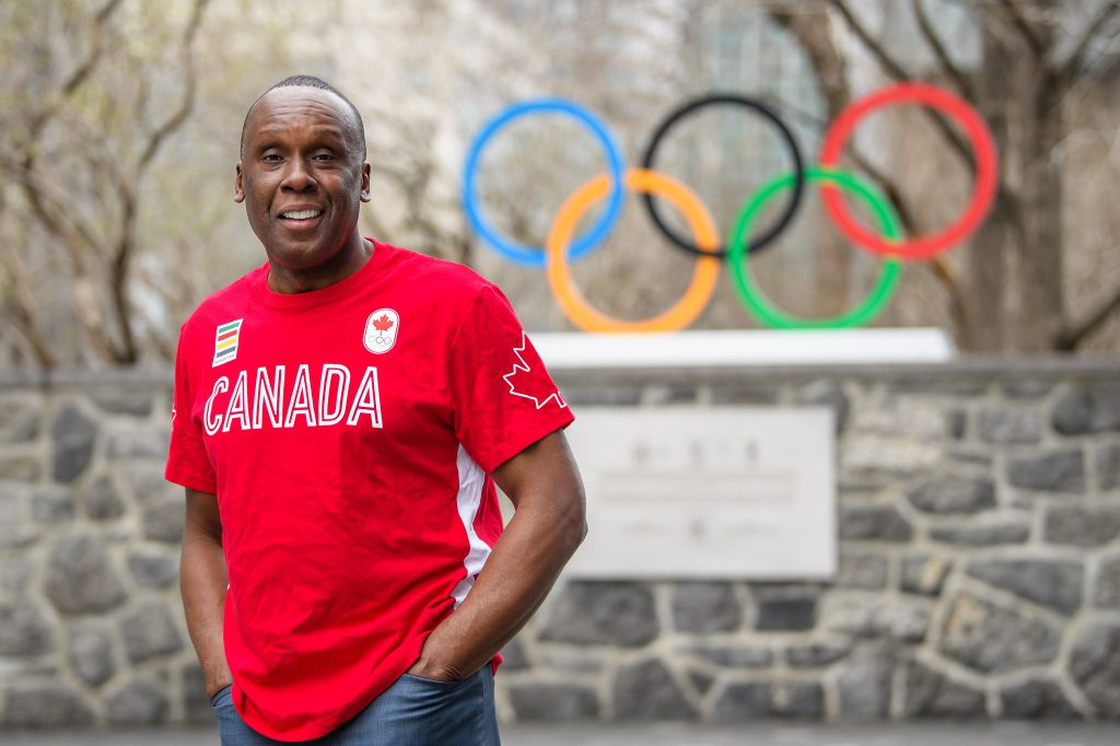 Bruny Surin jeux olympiques canada