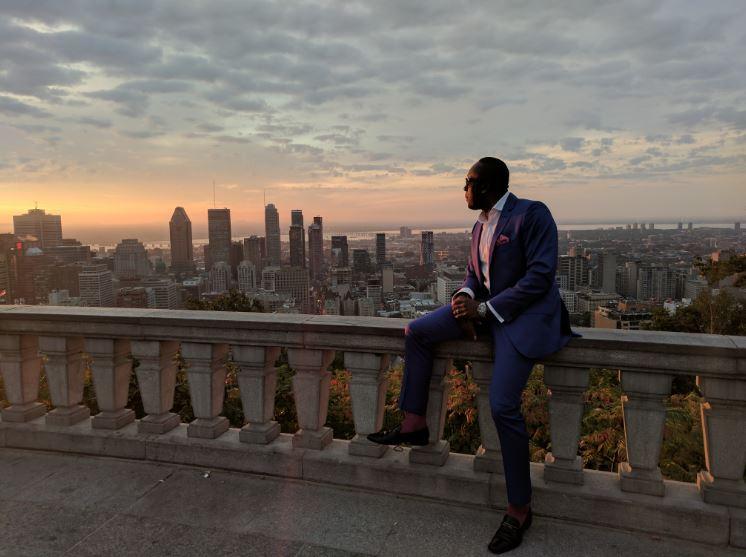 Bruny Surin regarde l'avenir depuis le Mont-Royal