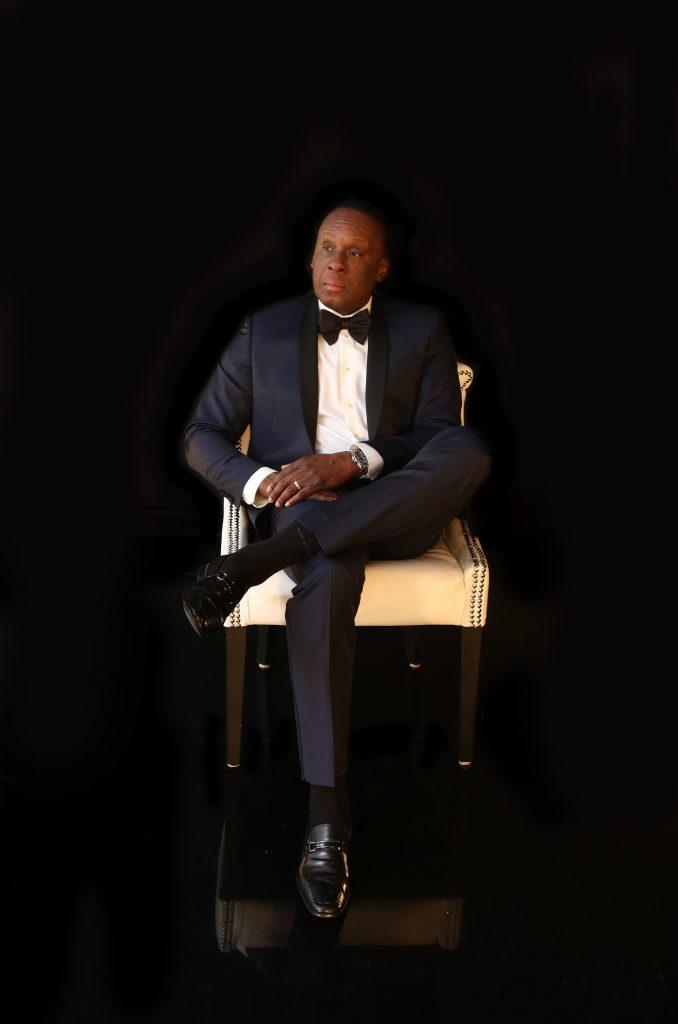 Bruny Surin, ex-olympien, conférencier, homme d'affaires.